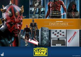 「予約品」Hottoys ホットトイズTMS024 『スター・ウォーズ:クローン・ウォーズ』 ダース・モール 1/6スケールフィギュア Star Wars: The Clone Wars - Darth Maul (一般流通分)