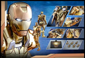 Hottoys ホットトイズ MMS586D36 『アイアンマン 3』アイアンマン・マーク21 ミダス DIECAST 1/6 スケールフィギュア Midas Ironman(限定版)