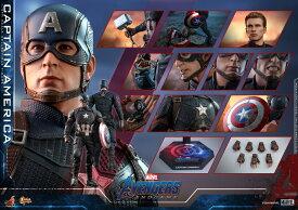 「予約品」Hottoys ホットトイズ MMS536『アベンジャーズ/エンドゲーム』キャプテン・アメリカ 1/6スケールフィギュア Avengers: Endgame - Captain America