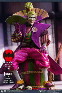 スターエース トイズ SA0079 バットマン忍者 ジョーカー 1/6 可動フィギュア batman Ninja Star Ace toys Joker (一般流通分)
