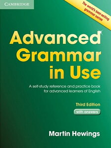 Advanced Grammar in Use with Answers 3版 (英語)