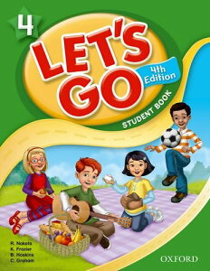 Let's Go 4: Student Book 4版 (英語)
