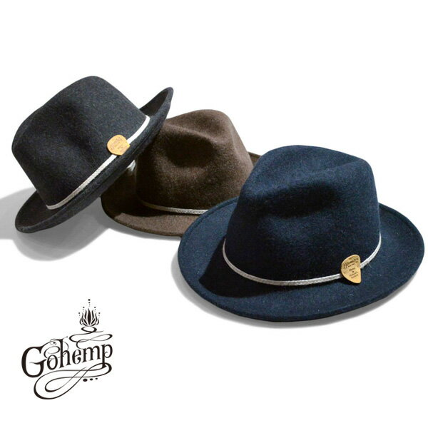 ゴーヘンプ GO HEMP BLUES CLASSIC HAT ハット