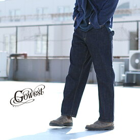 GOWEST ゴーウエスト LOOSE TAPERED PANTS / 14oz SELVAGE DENIM ボトムス