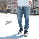 GOWEST × Brownfloor(ゴーウエスト)HARVESTER PANTS / 10oz STRETCH DENIM / ICE WASH / ボトムス
