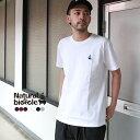 ナチュラルバイシクル Naturalbicycle EZO BAND Embroid T Tシャツ 半袖 トップス