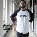 ナチュラルバイシクル Naturalbicycle トップス Tシャツ SAM'S BIKE the 30th Anniversary Raglan T 2021SS