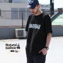 ナチュラルバイシクル Naturalbicycle Tシャツ 半袖 トップス SAPPORO Mirror Ambigram T【2019SS新作】