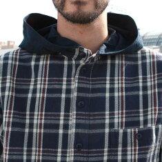 レミーラremillaトップスシャツワークチェックフード2019AW