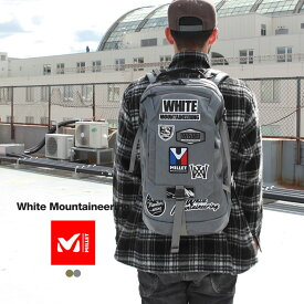 White Mountaineering ホワイトマウンテニアリング リュック バックパック WM × MILLET BACKPACK
