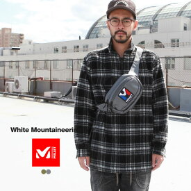 White Mountaineering ホワイトマウンテニアリング ショルダーバッグ WM × MILLET 2WAY SHOULDER BAG
