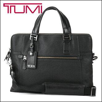 "Tumi Briefcase TUMI 68516 D bag Beacon Hill, BEACON HILL Briefcase ""branch"" slim laptop brief mens black Black Business bag"