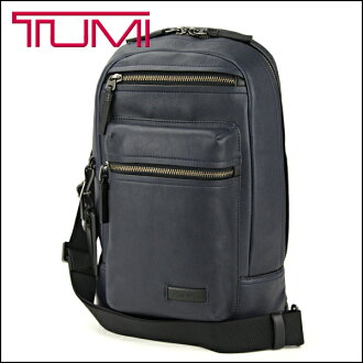 "Tumi bag 68918 TUMI bag mission MISSION ""Dolores"" Sling mens NAVY (Navy) Navy Blue Tablet Packable leather casual atire"