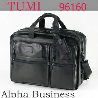 tumiburifukesu TUMI 96160 DH包阿尔法ALPHA大量·扩张器斗牛犬·皮革·组织者·计算机·男用短裤人黑色黑商务包