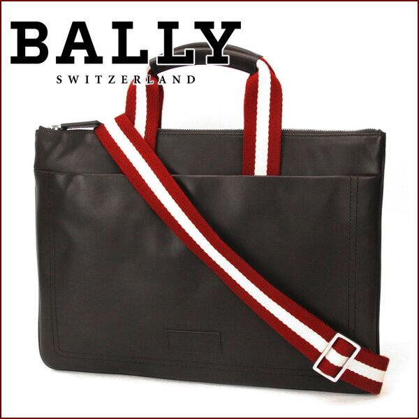 バリー ブリーフケース BALLY 6184560-261 バッグ TIGAN 6184560 261 メンズ チョコレート(ダークブラウン) ブラウン ショルダーバッグ 2WAY 【 送料無料】