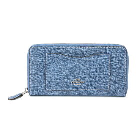 131ad81809af コーチ アウトレット 長財布(ラウンドファスナー) COACH OUTLET F67585 SVDE 財布 クロスグレイン CROSSGRAIN
