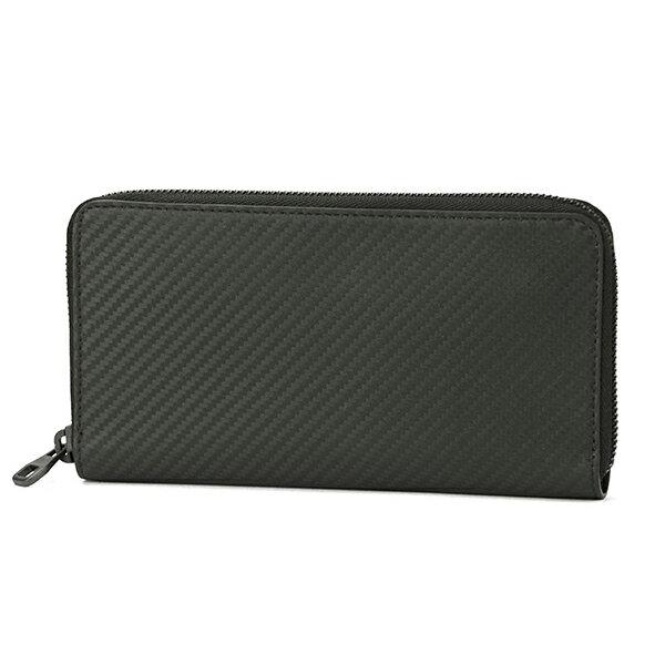 ダンヒル 長財布(ラウンドファスナー) dunhill L2R918A 財布 シャーシ CHASSIS メンズ BLACK ブラック 黒 カーボン ビジネス スマート シック【 送料無料】