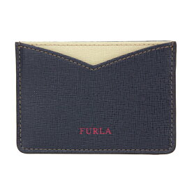 フルラ カードケース FURLA PS28 B30 904401 ブランド小物 ジョイア GIOIA S カードケース レディース NAVYb/CRETA c(クレタ) ネイビー/サンドベージュ【 送料無料】