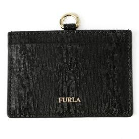 フルラ カードケース FURLA PAR4 B30 993511 ブランド小物 リンダ LINDA S バッジホルダー レディース ONYX ブラック 黒【 送料無料】