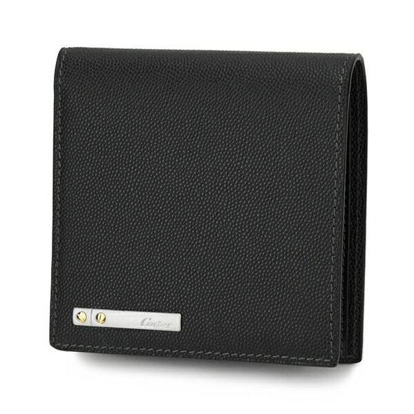 カルティエ 2つ折り財布 CARTIER L3000772 財布 サントス メンズ ブラック 黒 【 カルチェ 送料無料 楽天】