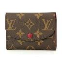 ルイヴィトン コインケース Louis Vuitton M41939 財布 モノグラム MONOGRAM ポルトモネ・ロザリ レディース FUCHSIA(フューシャ) ブラウン/ピンク ロゴ ゴールド