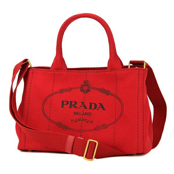 プラダ トートバッグ PRADA B2439G 1BG439 バッグ カナパ CANAPA レディース ROSSO(ロッソ) レッド 赤 ハンドバッグ カジュアル【 送料無料】