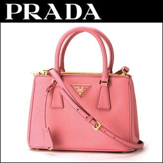 普拉达手袋普拉达 (prada) BN2896 NZV F0410 袋真皮 Lux 真皮 LUX 女士 GERANIO (Geranio) 粉色肩包 2 路