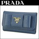 プラダ キーケース PRADA 1PG222 ZTM F0016 1M0222 ブランド小物 サフィアーノフィオッコ SAFFIANO FIOCCO レディース...