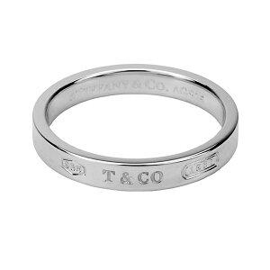 ティファニー リング TIFFANY アクセサリー 1837 ナローリング natrrow ring 4mm幅 レディース スターリング シルバー sterling silver ペアリングOK 指輪【 Tiffany&Co 送料無料】