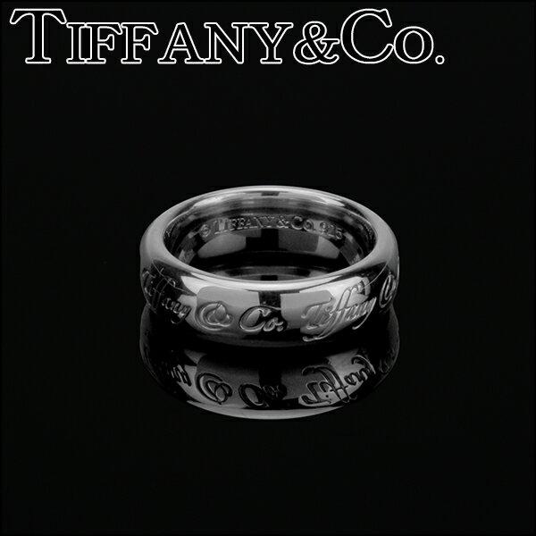 ティファニー リング TIFFANY アクセサリー ノーツ Notes リング ring 6mm幅 レディース スターリング シルバー sterling silver ペアリングOK 指輪【 Tiffany&Co 送料無料】