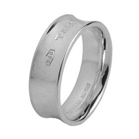 ティファニーリングTIFFANYアクセサリー1837リングring7mm幅レディーススターリングシルバーsterlingsilverペアリングOK指輪【Tiffany&Co送料無料】