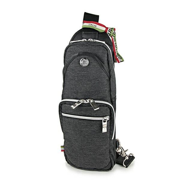 オロビアンコ ウエストバッグ・ボディバッグ Orobianco GIACOMIO 13-H 14 バッグ ジーンズ JEANS ジャコミオ メンズ JEANS BLACK(ジーンズブラック) ブラック系 黒 スリングバッグ ロゴプレート カジュアル【 送料無料】