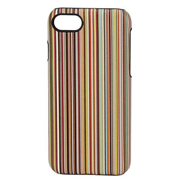 【最大3000円OFFクーポン配布中】ポールスミス iPhone7/iPhone8 スマートフォンケース PAUL SMITH ATXC 5173 W810 92 ブランド小物 シグネチャーストライプ SIGNATURE STRIPE IPHONE 7 CASE ユニセックス MULTI マルチ ストライプ レザー スマホケース アイフォン7/8 メンズ