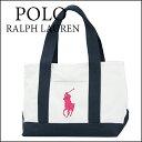 ポロ ラルフローレン トートバッグ POLO RALPHLAUREN 950194A バッグ レディース WHITE/NAVY/FUCHSIA PINK(フューシャピンク) ホワイト 白/ネイビー 紺