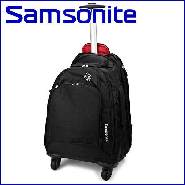 サムソナイト リュックサック Samsonite 46309-1041 バッグ エムブイエス MVS Spinner Backpack メンズ BLACK ブラック 黒 バックパック 17インチ ビジネスバッグ【 送料無料】