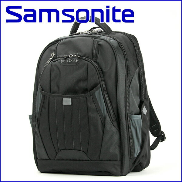 サムソナイト リュックサック Samsonite 66303-1041 バッグ テクトニック 2 ラップトップ バックパック TECTONIC2 LAPTOP BACKPAC メンズ BLACK ブラック 黒 多機能 16インチ バックパック ビジネスバッグ【 送料無料】