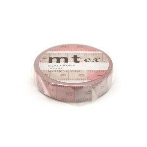 マスキングテープ mt ex 裁縫メジャー 10mm幅 和紙 クラフト デザイン ラッピング MTEX1P201 - 送料無料※600円以上 メール便発送