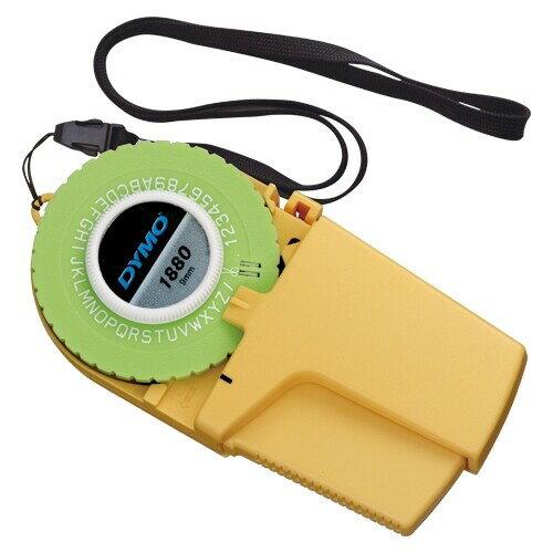 DYMO ダイモ テープライター 本体 DM1880 イエロー 9mm巾テープ用