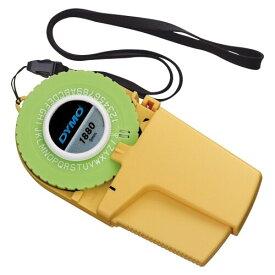 DYMO ダイモ テープライター 本体 イエロー 9mm巾テープ用 DM1880 - 送料無料※600円以上 メール便発送