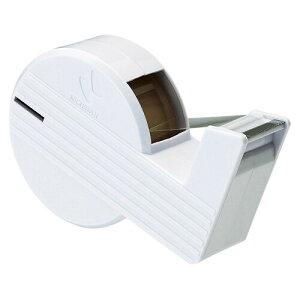 ニチバン セロテープ 直線美 ハンドカッター ミニ 白 CT-15SCB5 - 送料無料※600円以上 メール便発送