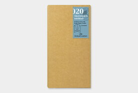 【TRAVELER'S notebook】トラベラーズノート リフィル レギュラーサイズ 020 クラフトファイル 14332006 - 送料無料 メール便発送