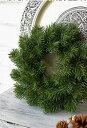 【造花・光触媒加工・完成品】クリスマスリース 造花もみの木のシンプルリーフ 光触媒でニオイを分解、お部屋をきれいに【ラッピング…