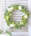 新商品■33cmリース 手作りキット■新築祝いに 玄関用に・リース■キット・材料・花材・マニュアル■造花 ラナンキュラス ガーデン…