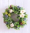 ベリーベリーリースキット リース人気 リース玄関 リース キット 材料 花材 マニュアル リース 手作りキット 造花リース ベリーリース…