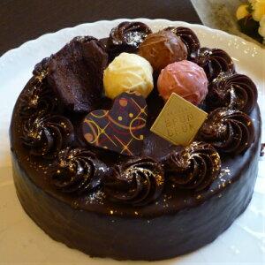 ザッハトルテ チョコレートケーキ5号  ブラントルテ ギフト 送料無料(北海道・沖縄除く) バースデー プレゼント チョコレート チョコレートケーキ バースデーケーキ スィーツ 贈り物 濃