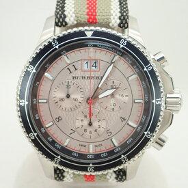 バーバリー【BURBERRY】SSエンデュランスクロノグラフメンズクォーツ腕時計*BU7600【中古】