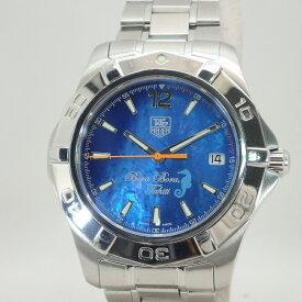 タグ・ホイヤー【TAG HEUER】アクアレーサーボラボラ300m限定900本メンズ自動巻き*WAF211N腕時計【中古】タグホイヤー