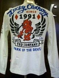 TEDMAN/テッドマン長袖Tシャツ ラッキークロージングTDLS-245/アメカジ ミリタリー バイカー