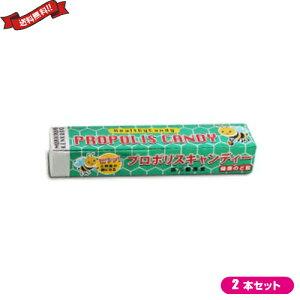 プロポリス キャンディー のど飴 森川健康堂 プロポリススティックキャンディー 10粒 2本セット