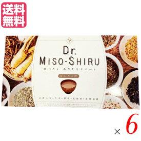 【ポイント4倍】最大23.5倍!Dr.味噌汁 6個セット ダイエット サプリ 置き換え
